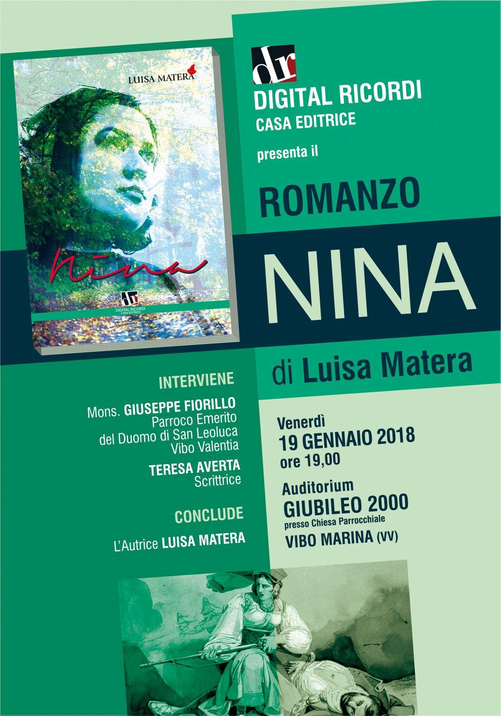 Nina di Luisa Matera- locandina