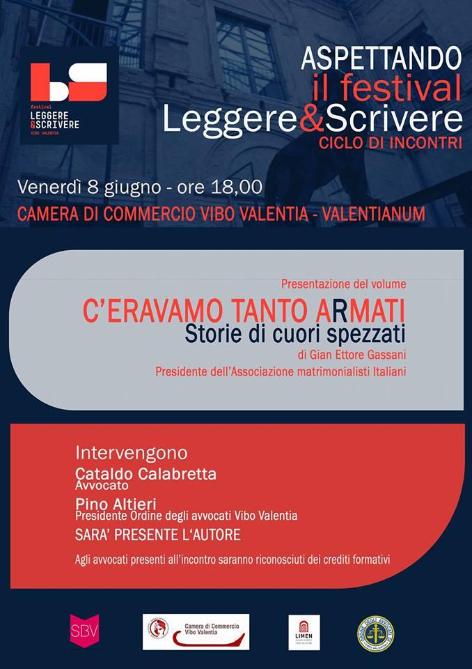 FESTIVAL L&S - INCONTRO CON GASSANI - LOCANDINA-INVITO
